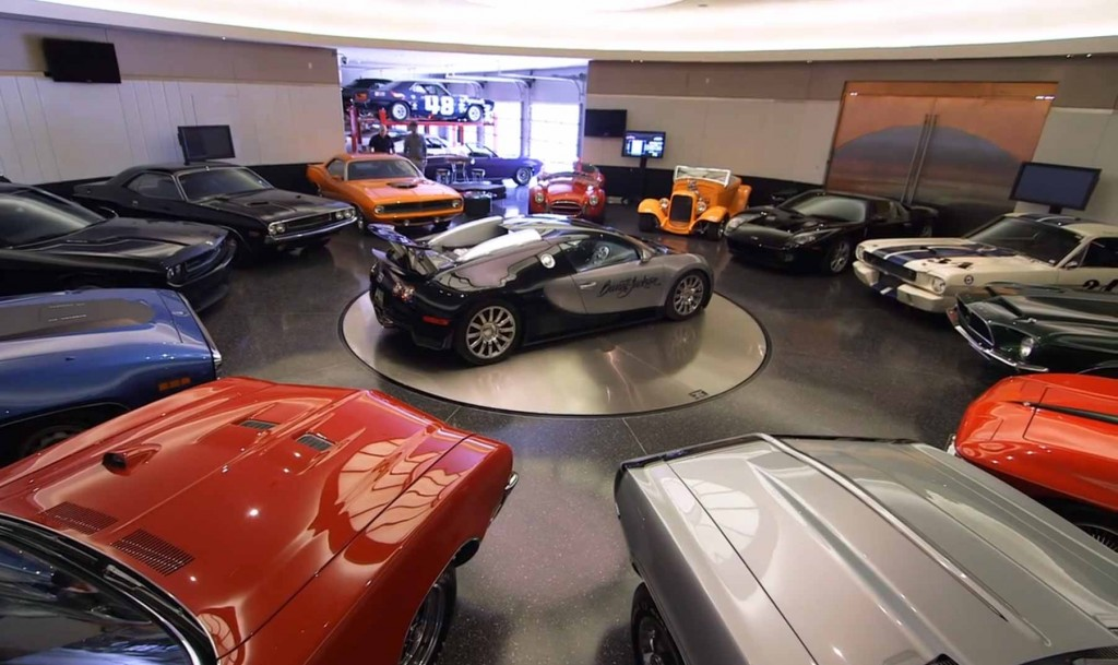 Craig Jackson's Dream Garage
